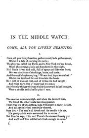 Cover of: In the middle watch