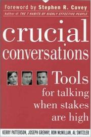 Cover of: Crucial Conversations | Kerry Patterson