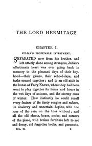 Cover of: Lord Hermitage | Grant, James