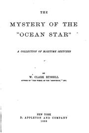 "Cover of: The mystery of the ""Ocean Star"": a collection of maritime sketches"