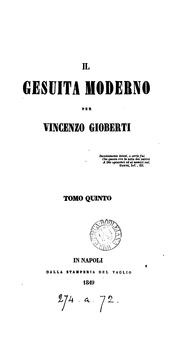 Cover of: Il gesuita moderno