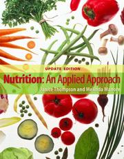 Cover of: Nutrition | Janice Thompson