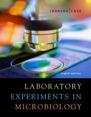 Cover of: Laboratory experiments in microbiology
