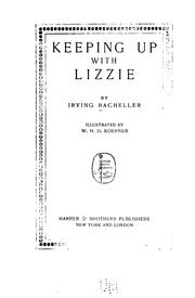 Cover of: Keeping up with Lizzie