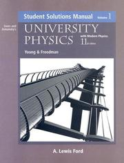 Cover of: University Physics with Modern Physics