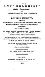 Cover of: The entomologist's useful compendium