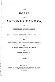 Cover of: The works of Antonio Canova