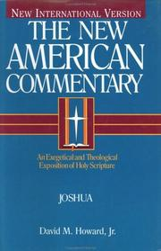 Cover of: Joshua | Howard, David M. Jr.