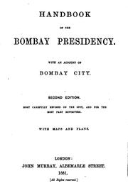 Cover of: Handbook of the Bombay Presidency