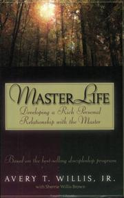 Cover of: MasterLife | Avery T. Willis