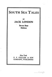 Cover of: South Sea tales | Jack London