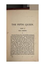 The fifth queen by Ford Madox Ford