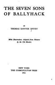 Cover of: The seven sons of Ballyhack