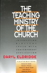 Cover of: The teaching ministry of the church |