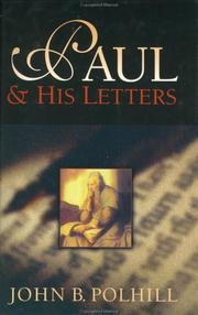 Cover of: Paul and his letters