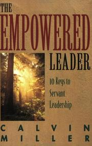 Cover of: The Empowered Leader