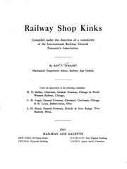 Cover of: Railway shop kinks | Wright, Roydon Vincent
