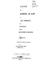 Cover of: treatise on the limitations of actions at law and suits in equity and admiralty | Joseph Kinnicut Angell