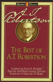 Cover of: The best of A.T. Robertson