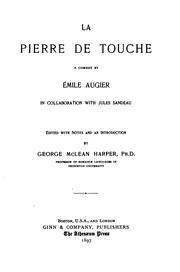Cover of: La pierre de touche