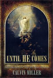 Cover of: Until He comes
