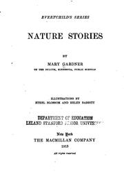 Cover of: Nature stories