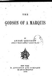 Cover of: The godson of a marquis