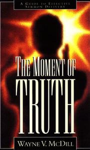 Cover of: The Moment of Truth