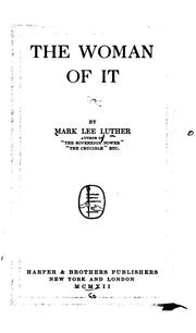 Cover of: The woman of it