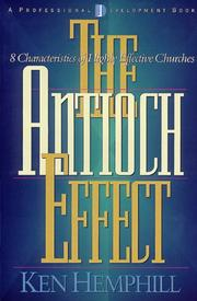 Cover of: The Antioch Effect