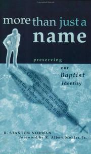 Cover of: More Than Just a Name