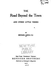 Cover of: road beyond the town | Michael Earls