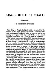 Cover of: King John of Jingalo