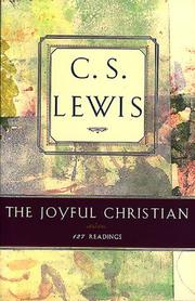 The joyful Christian by C. S. Lewis
