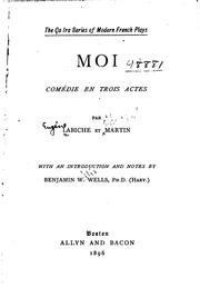 Cover of: Moi