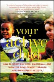 Cover of: Your Active Child