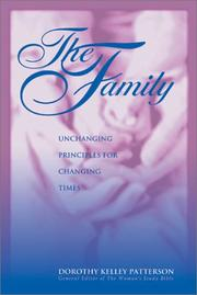 Cover of: The Family | Dorothy Kelley Patterson