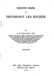 Cover of: Second book in physiology and hygiene