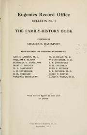 Cover of: The family-history book