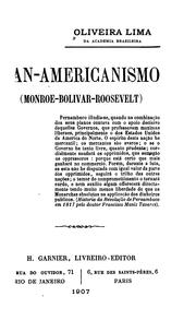 Cover of: Pan-americanismo