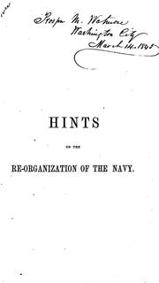 Cover of: The navy
