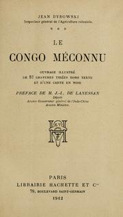 Cover of: Le Congo méconnu