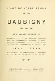 Cover of: Daubigny