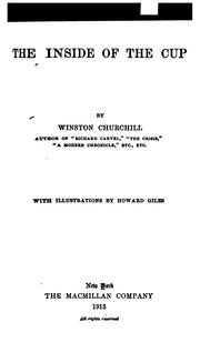 Cover of: inside of the cup | Winston Churchill
