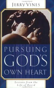 Cover of: Pursuing God's own heart