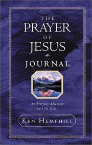 Cover of: The Prayer of Jesus Journal