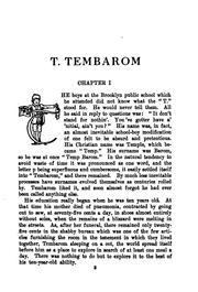 Cover of: T. Tembarom