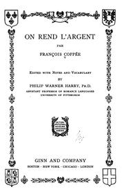 Cover of: On rend l'argent