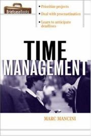 Cover of: Time management