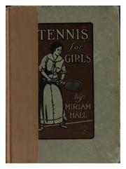 Cover of: Tennis for girls